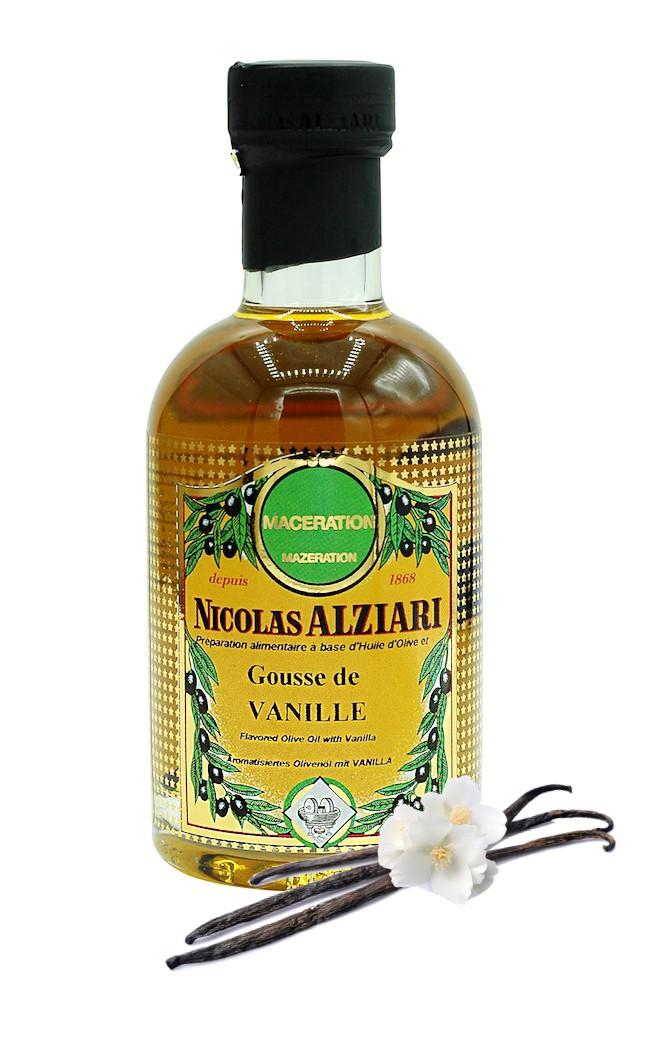 Olivenöl mit Vanille 200 ml
