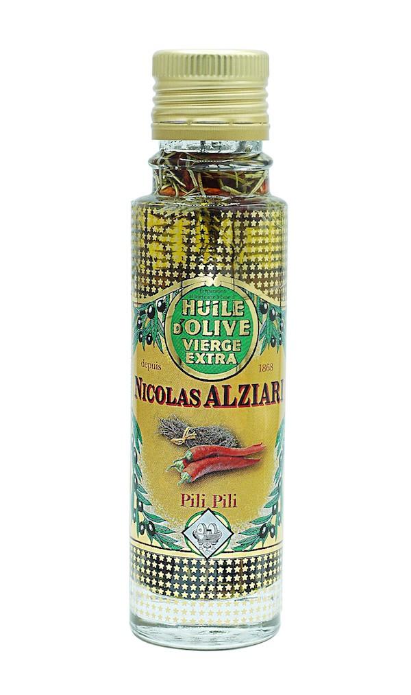 Olivenöl Pili Pili für pizza und Grillgerichte 100 ml