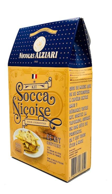 "Socca appetizer kit "" Niçoise"" für 4 personen"