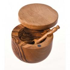 Pince à cornichon en bois d'olivier