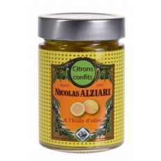 Kandierte Zitronen eingelegt in Olivenöl 300 gr