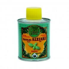 Mit natürlichem Basilikumextrakt aromatisiertes Olivenöl für Feinschmecker (100ml)