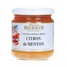 Konfitüre mit Zitronen aus Menton (230g)