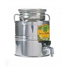 Olivenölfass aus Edelstahl 3 liter