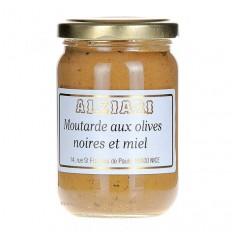 Senf mit schwarzen Oliven (210g)