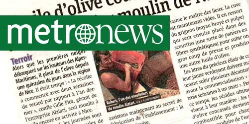 Metronews - Novembre 2013