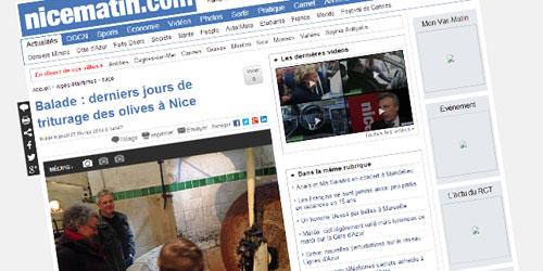 Nicematin.com février 2014