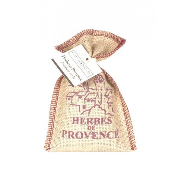 Kräuter der Provence im Jutesäckchen (50g)