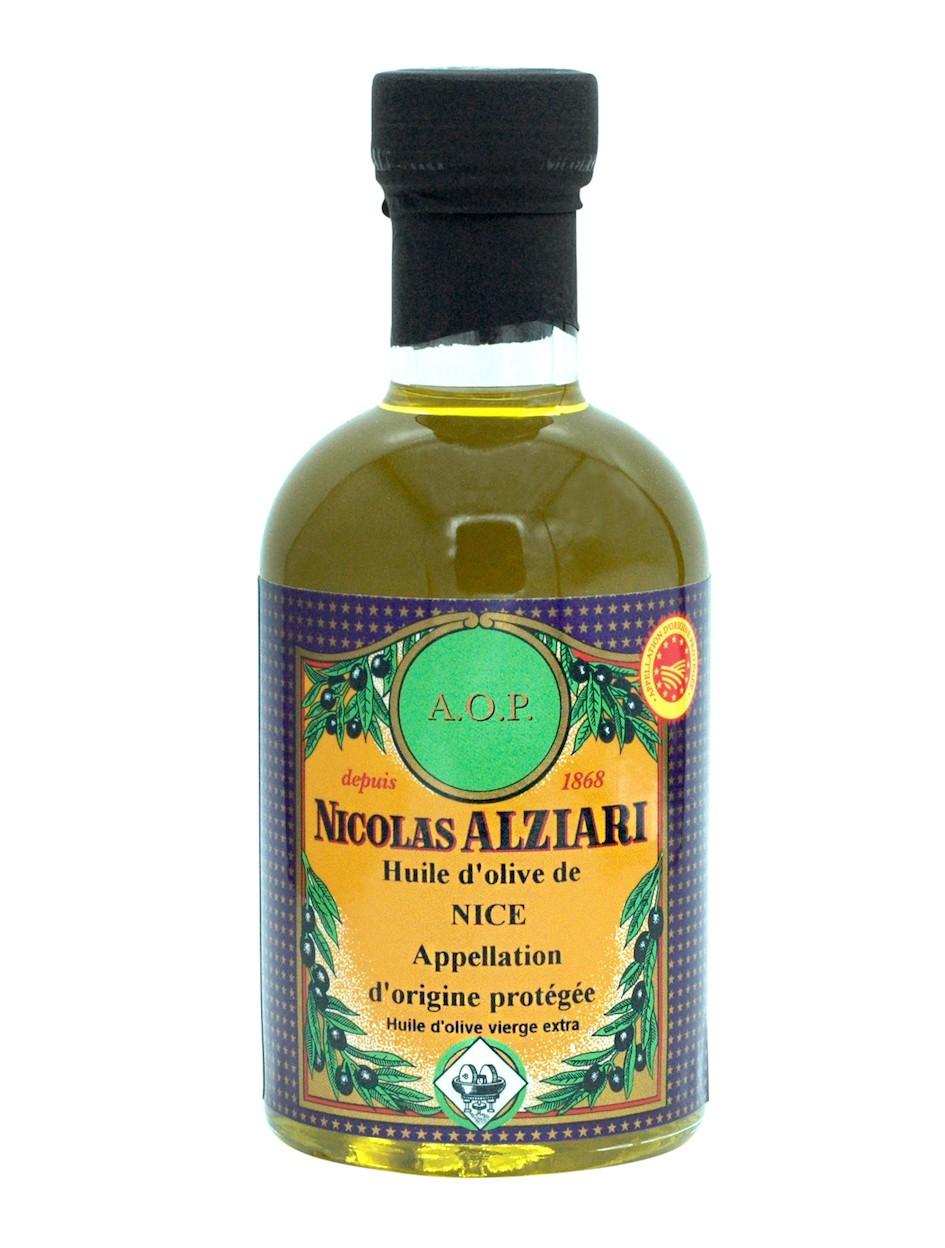Olivenöl GUB Nizza (mit geschützter Ursprungsbezeichnung Nizza – Frankreich) 200ml