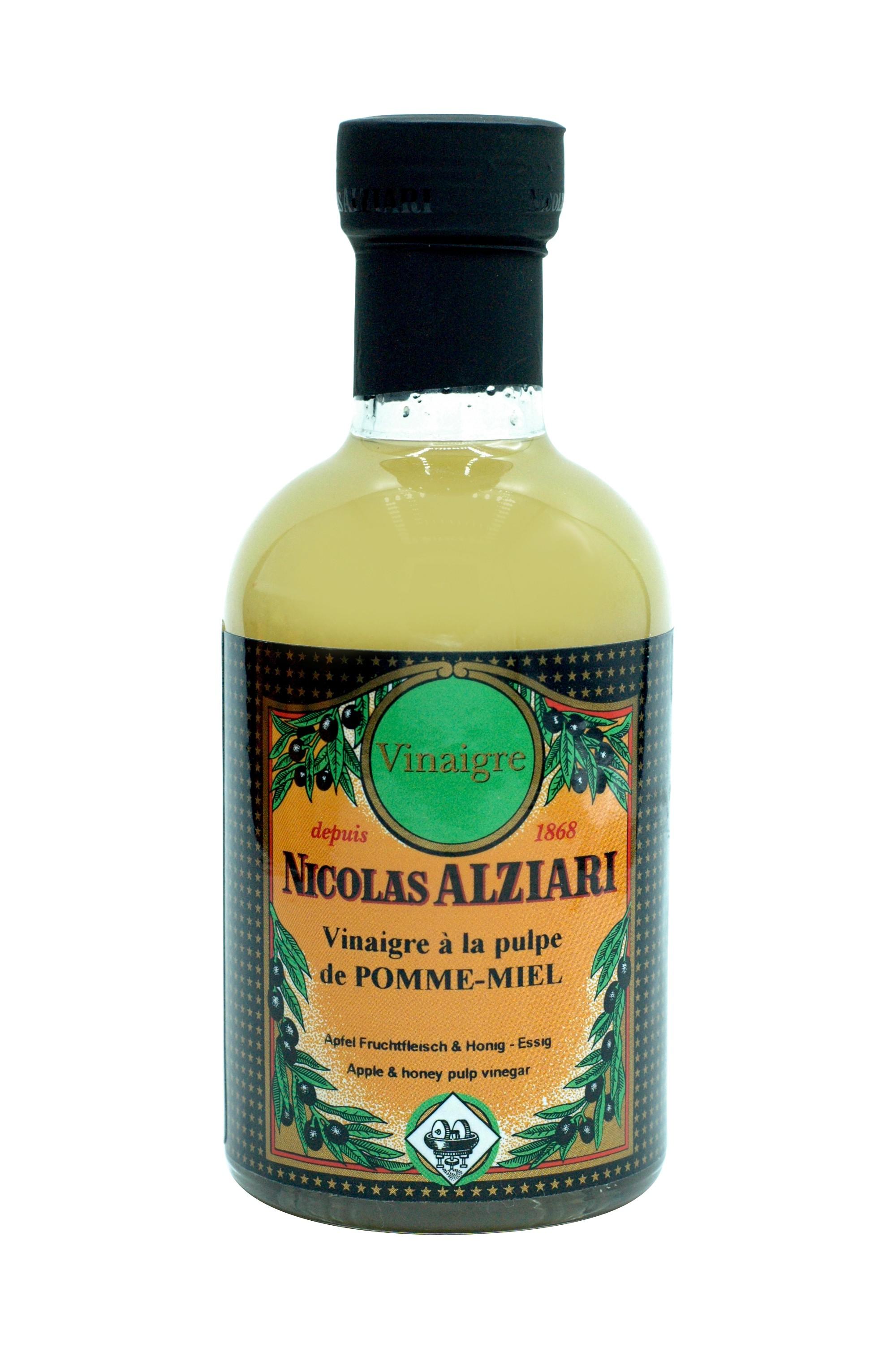 200ml Flasche Apfel Fruchtfleisch & Honig - Essig