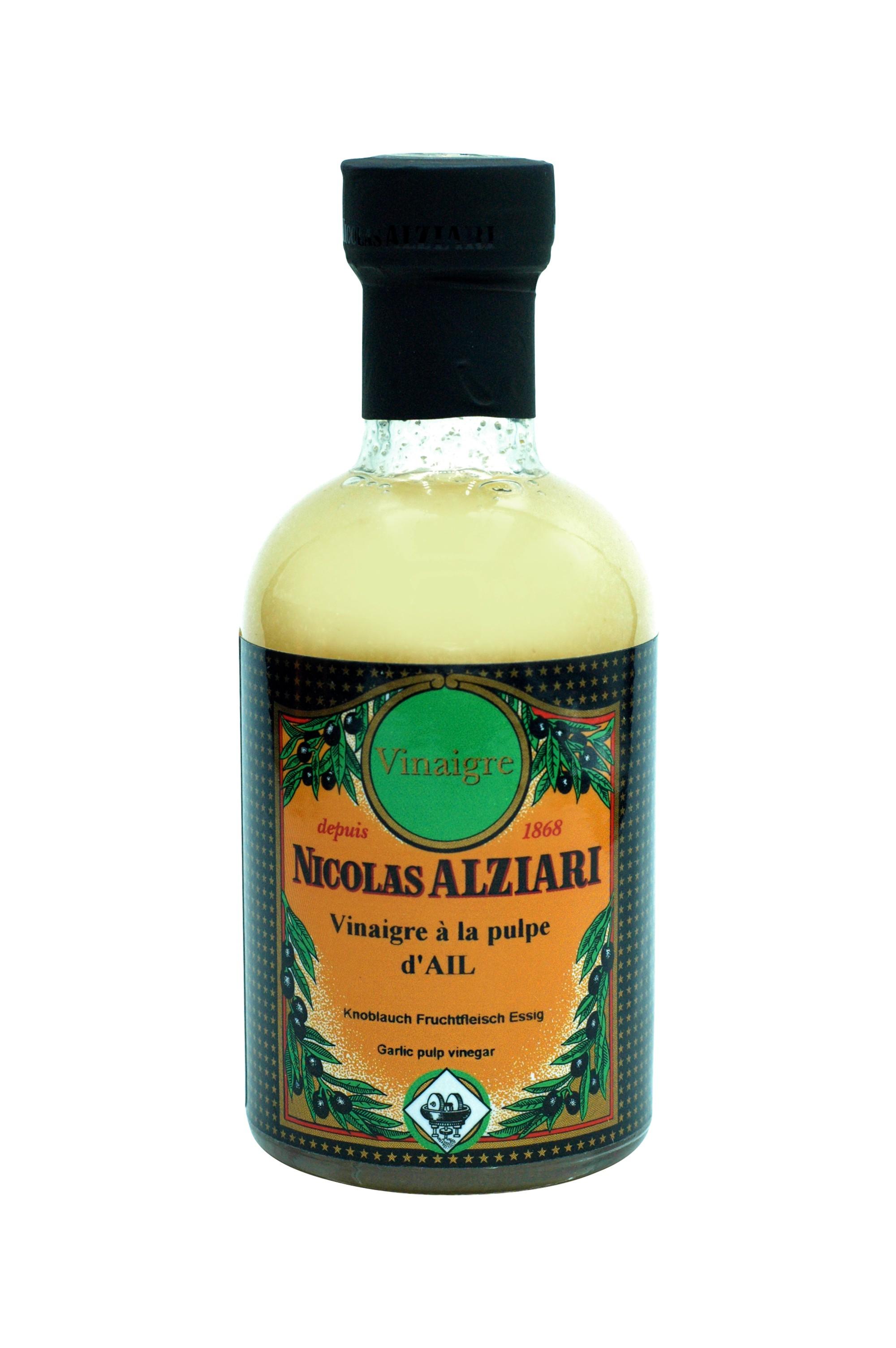 200 ml Flasche Knoblauch Fruchtfleisch Essig