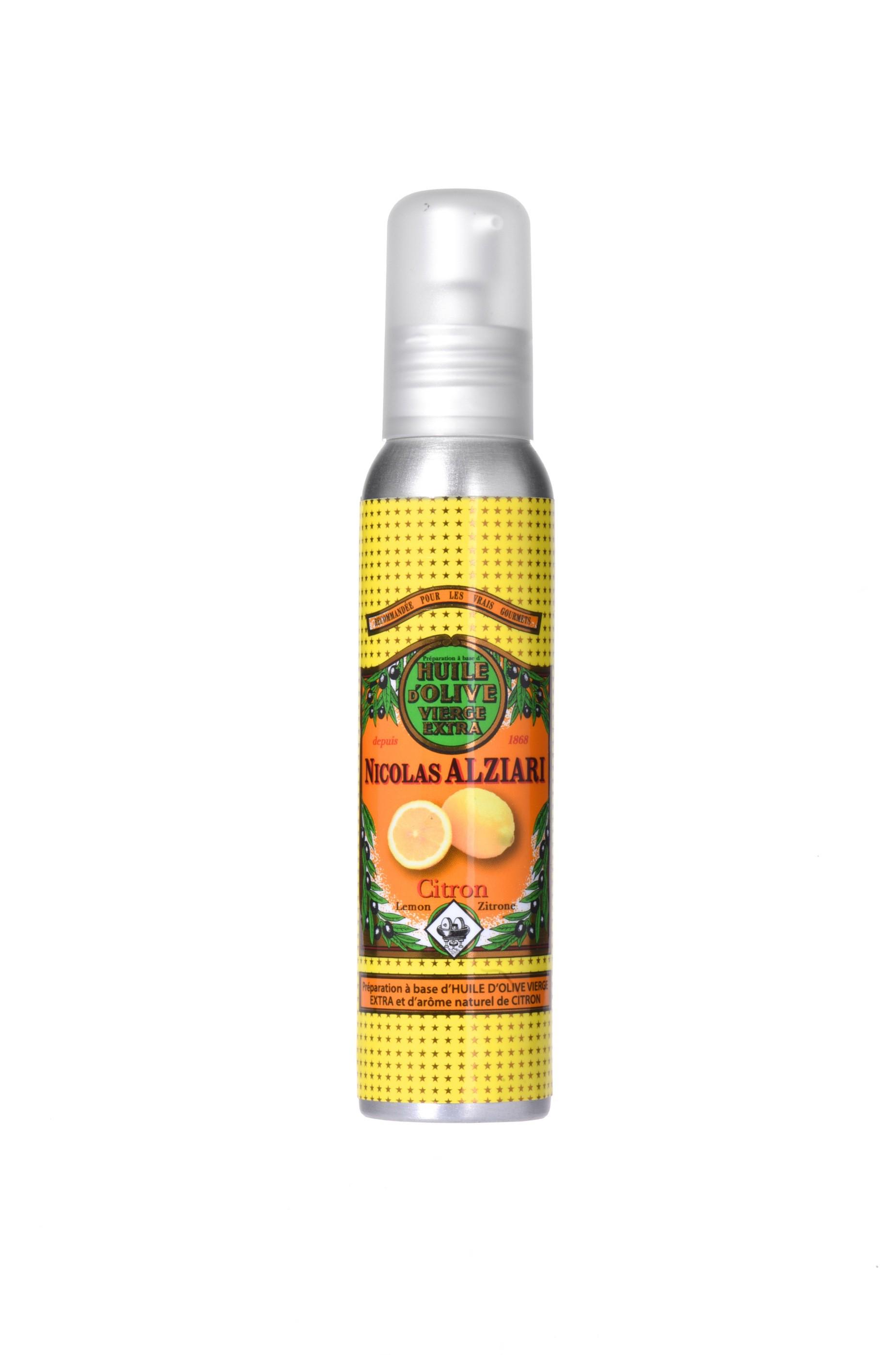 Mit natürlichem Zitronenextrakt aromatisiertes Olivenöl für Feinschmecker (100ml)