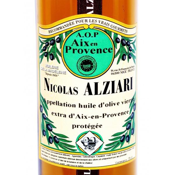Olivenöl AOP (mit geschützter Herkunftsbezeichnung les Baux-de-Provence – Frankreich) 0,75l