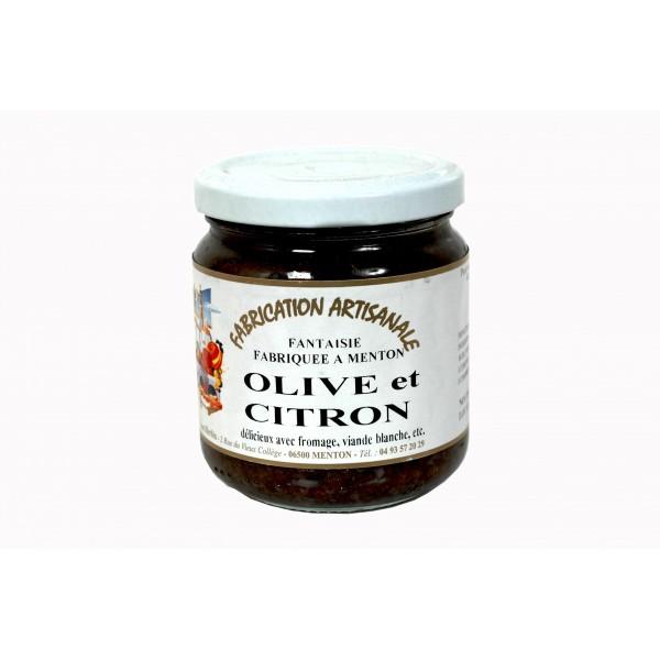 Konfitüre mit Oliven und Zitronen  (220g)