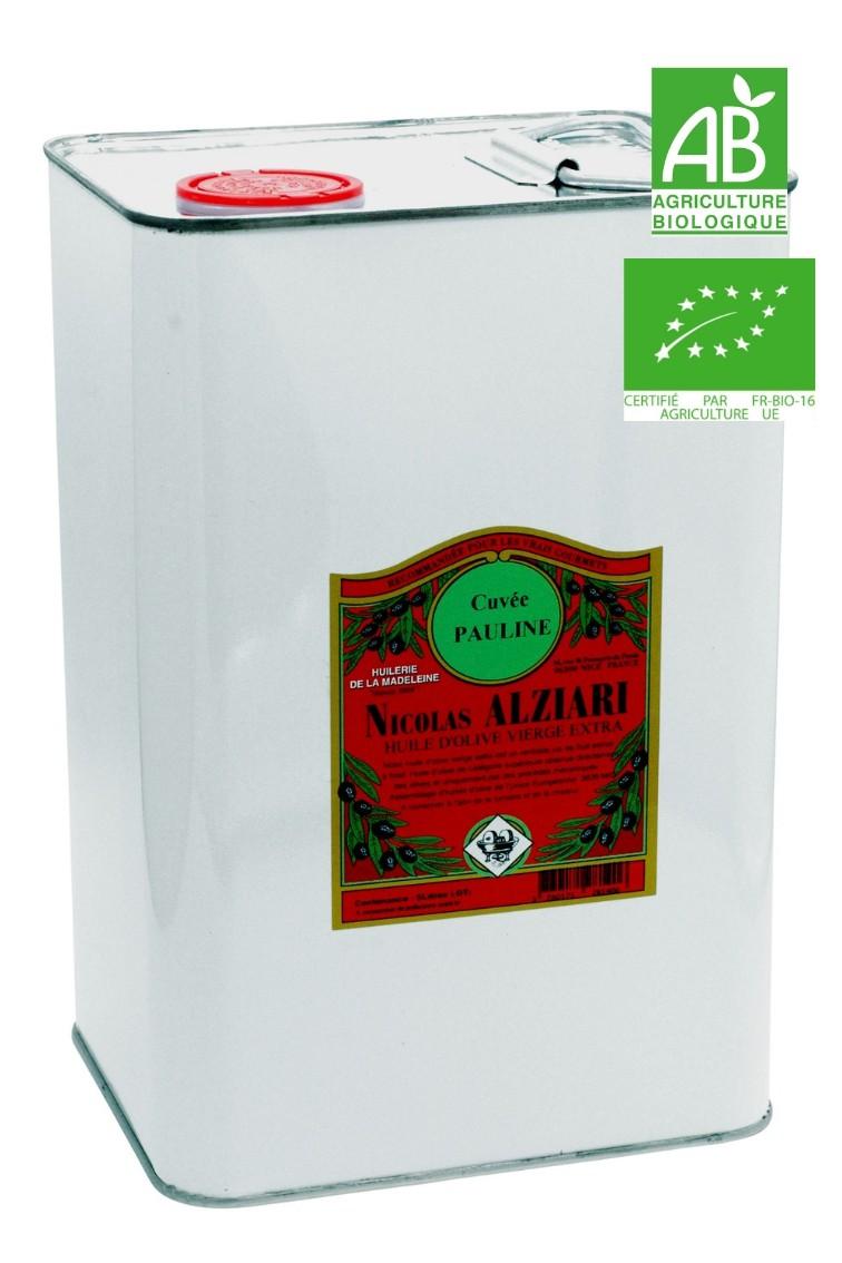 Olivenöl cuvée PAULINE 5 L - Bio*