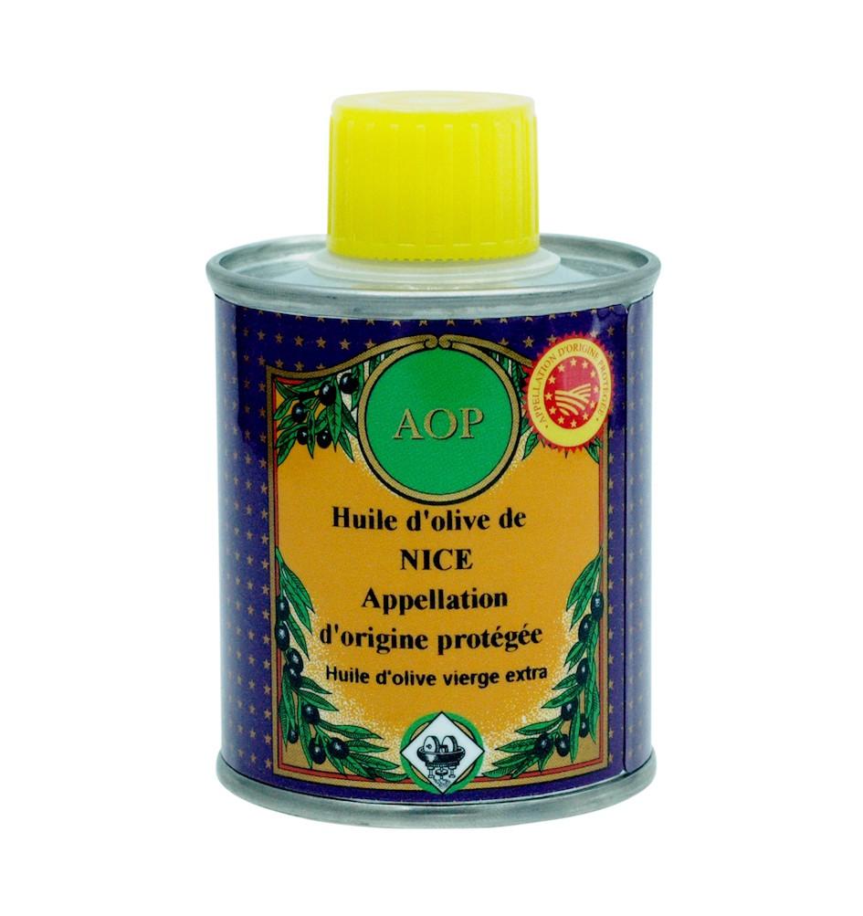 Olivenöl GUB Nizza (mit geschützter Ursprungsbezeichnung Nizza – Frankreich) 100ml