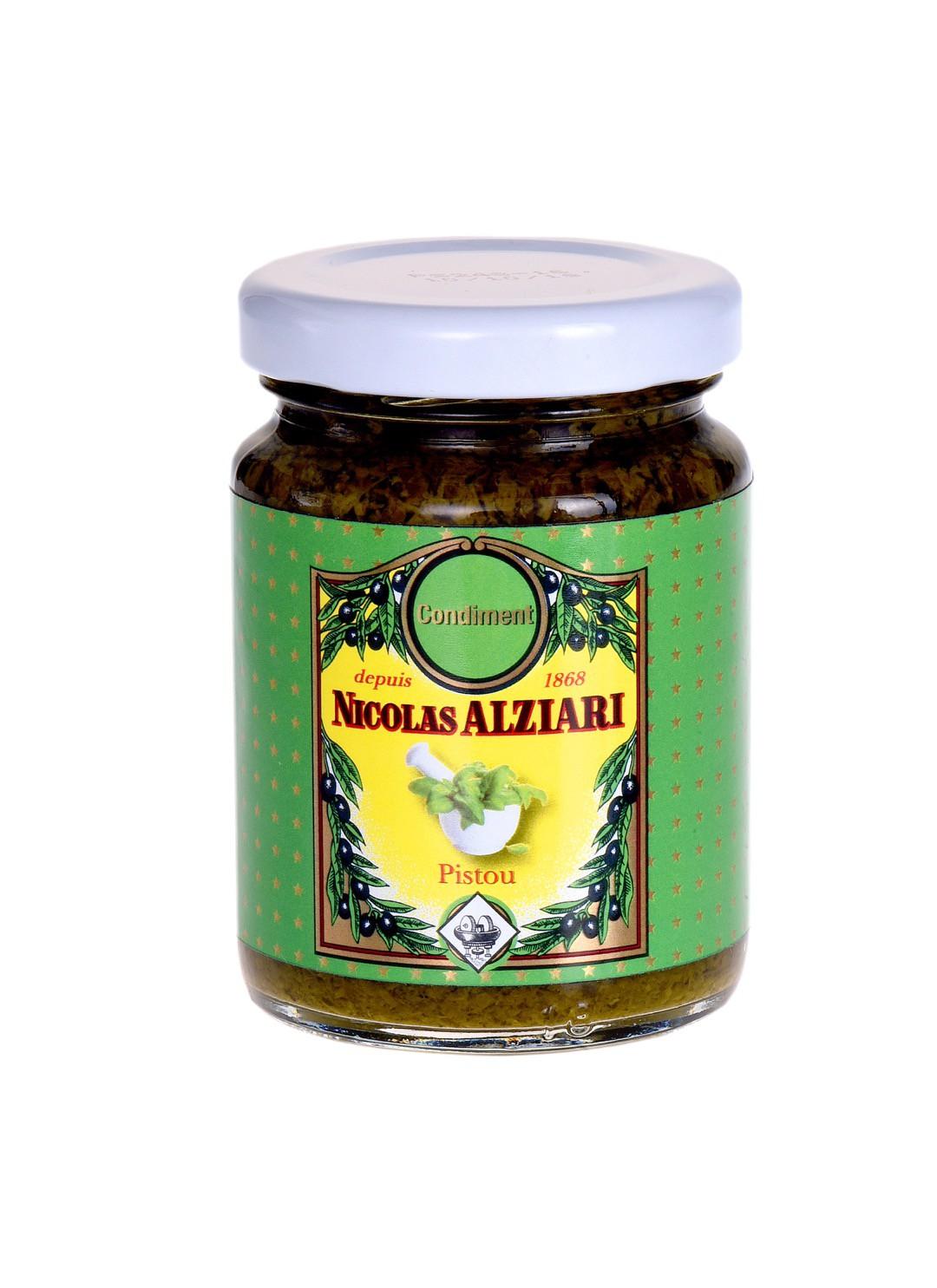Basilikumpaste (Pistou - 80 g)