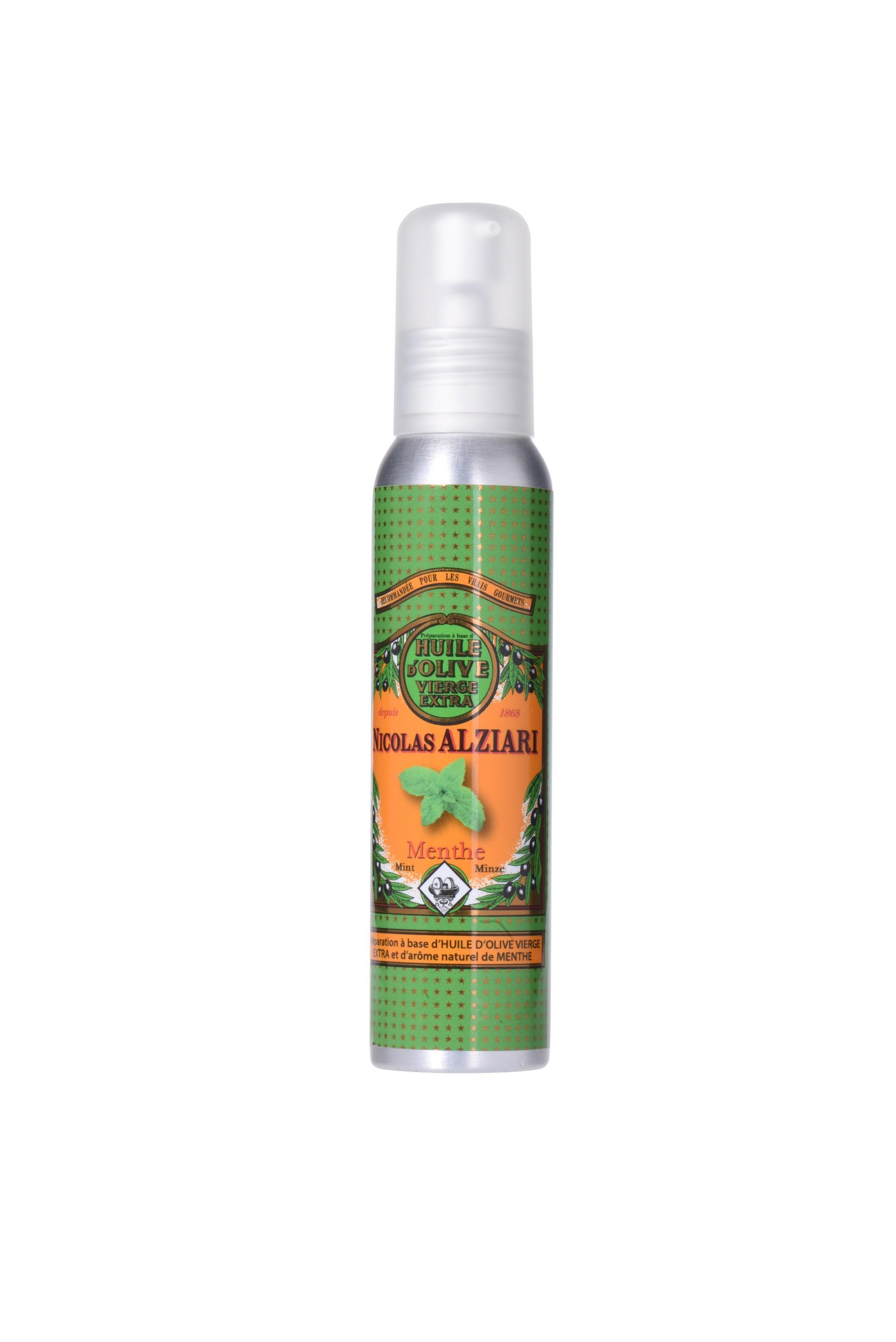 Mit natürlichem Minzextrakt aromatisiertes Olivenöl für Feinschmecker (100ml)