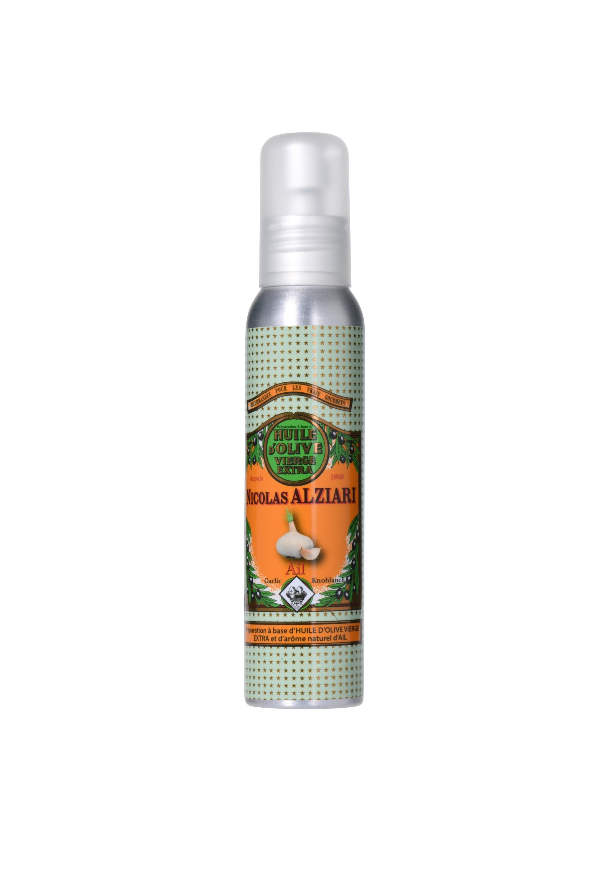 Mit natürlichem Knoblauchextrakt aromatisiertes Olivenöl für Feinschmecker (100ml)