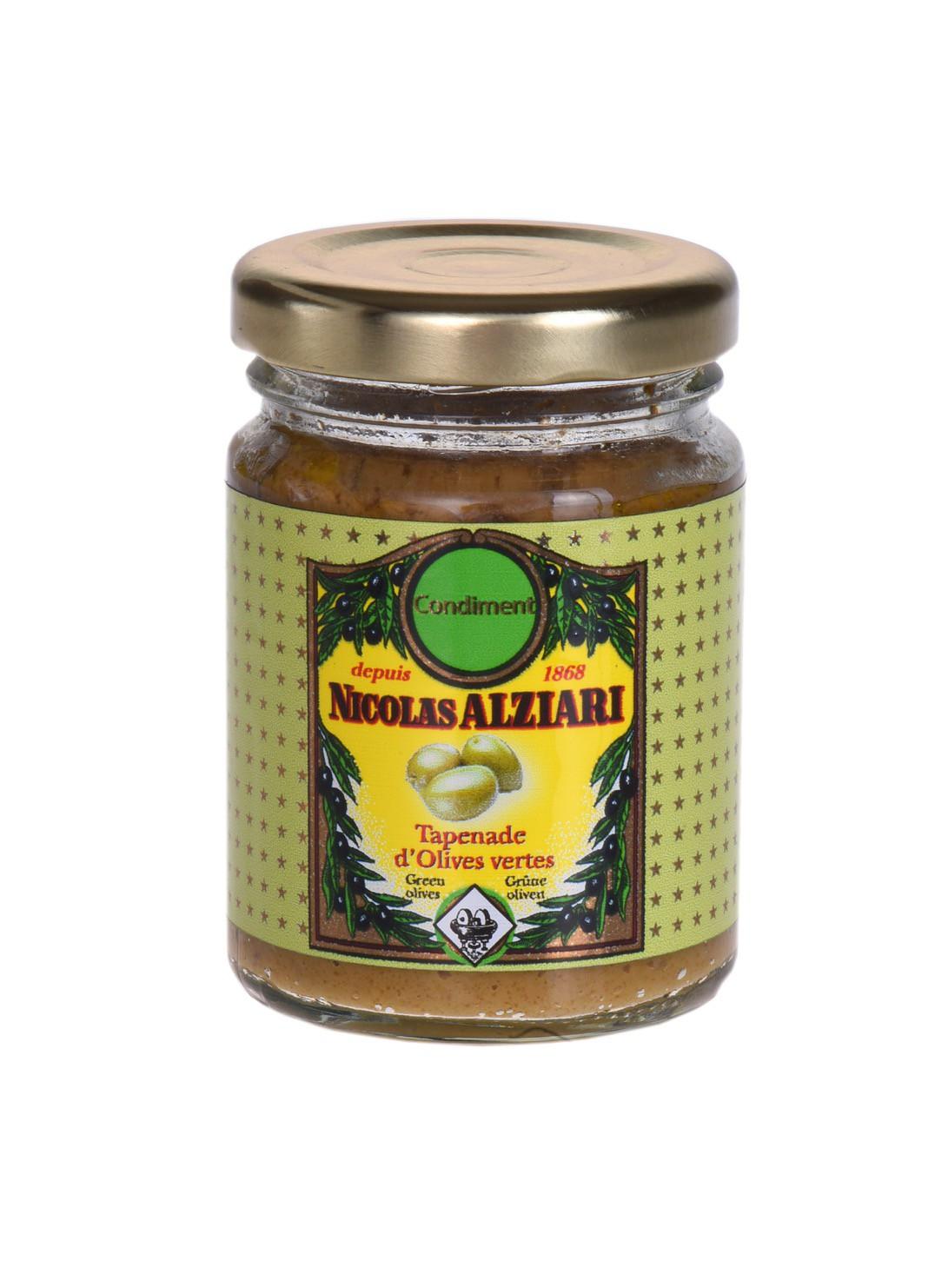 Olivenpaste grüne Tapenade 80g