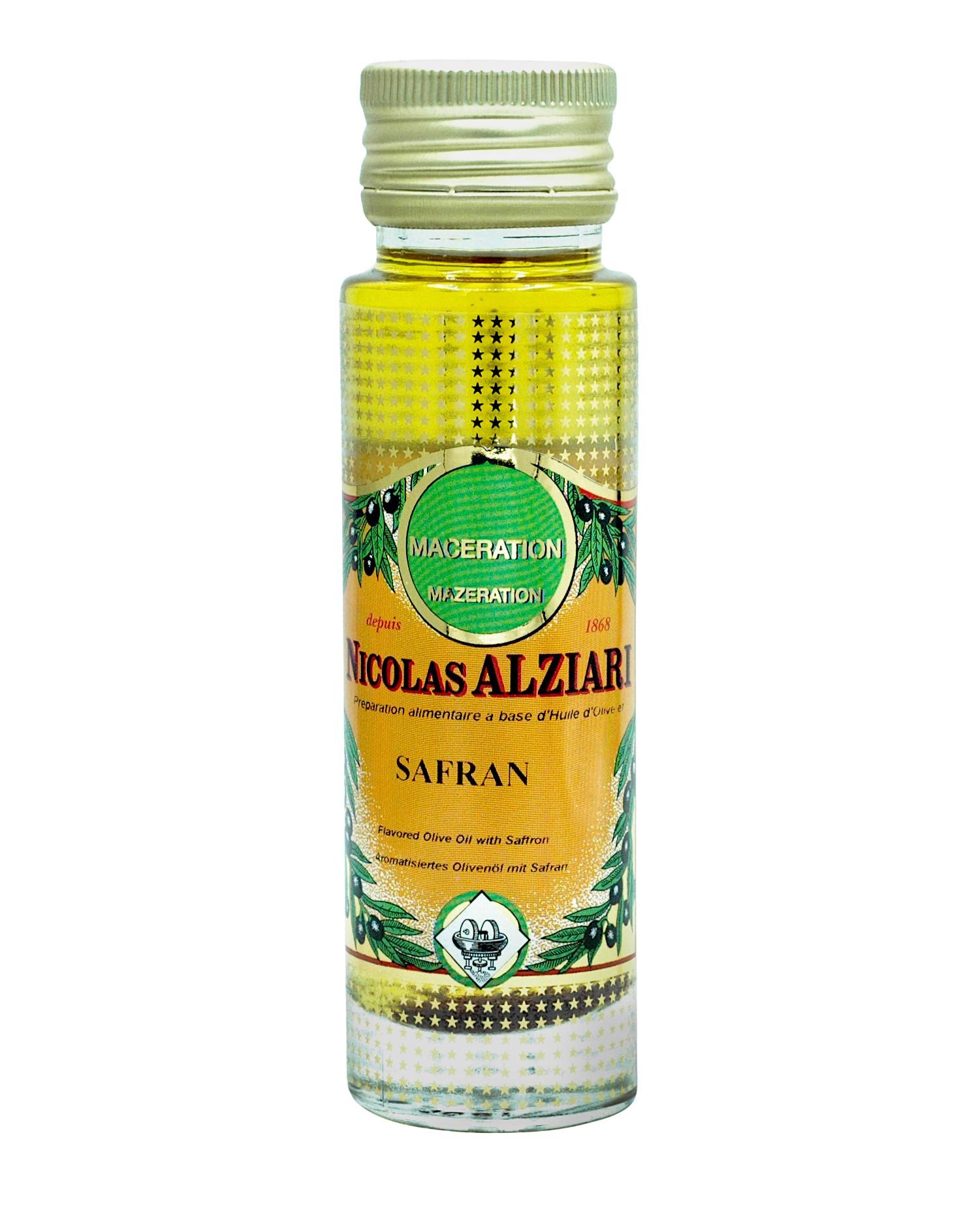 Olivenöl mit Safran 100 ml