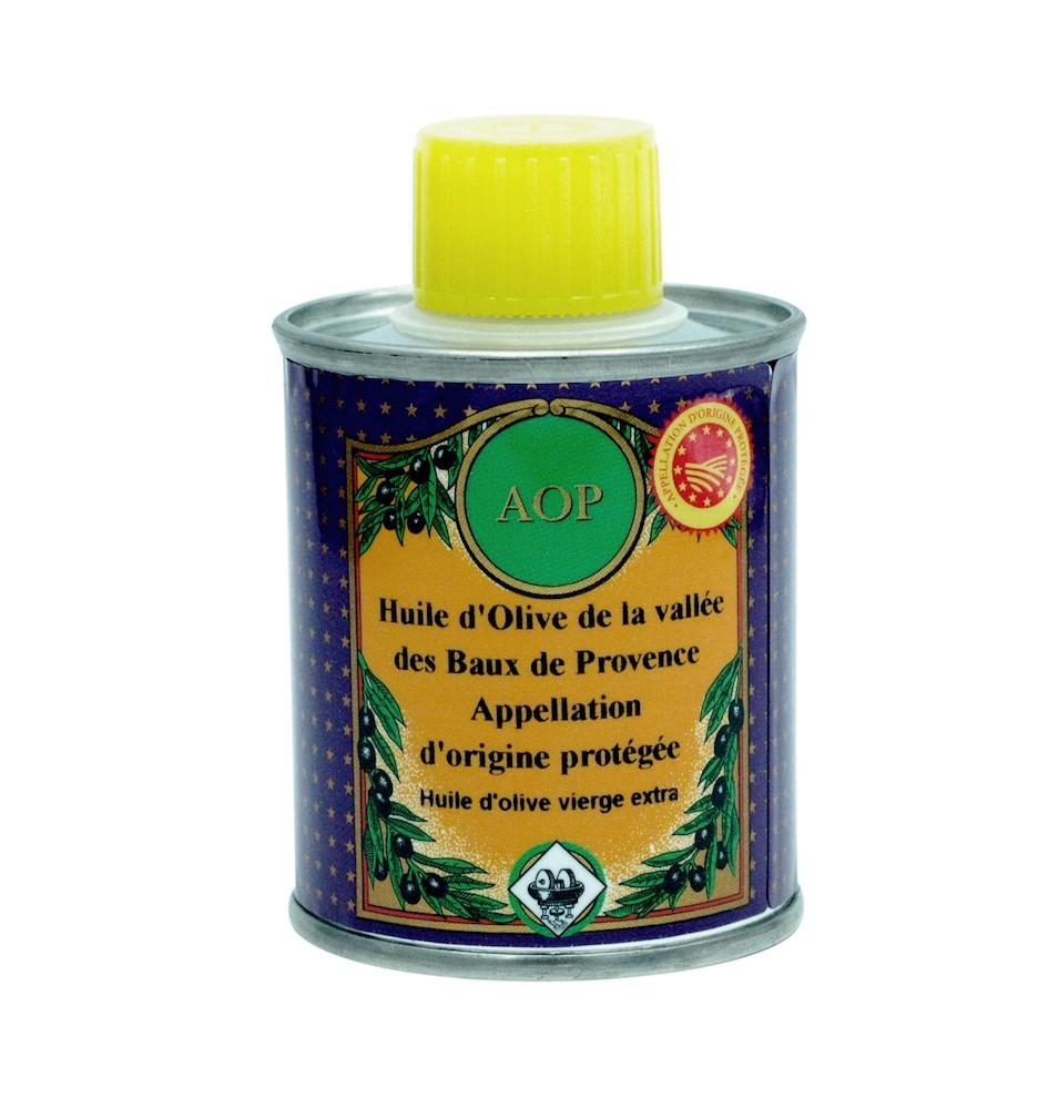 Olivenöl GUB Vallée des Baux de Provence (mit geschützter Herkunftsbezeichnung vallée des Baux-de-Provence – Frankreich) 100ml