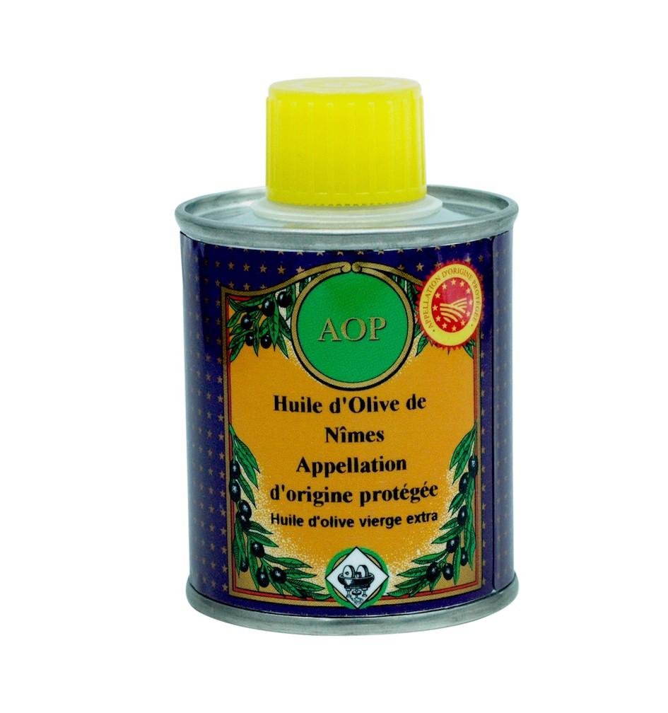Olivenöl GUB Nîmes (mit geschützter Ursprungsbezeichnung Nîmes – Frankreich) 100ml