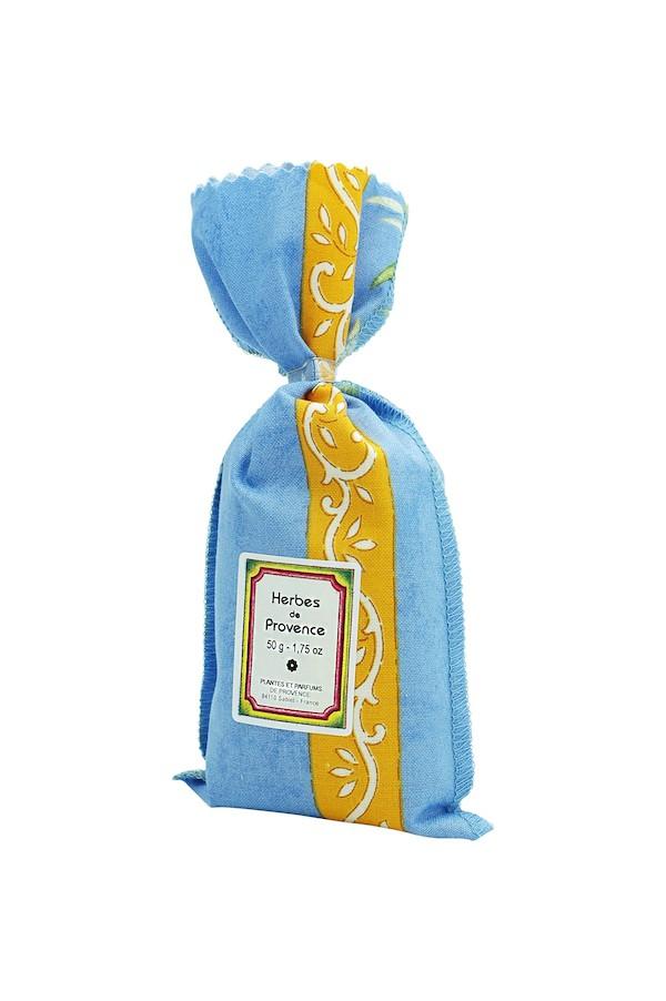 Kräuter der Provence im dekorativen Stoffsäckchen (50g)