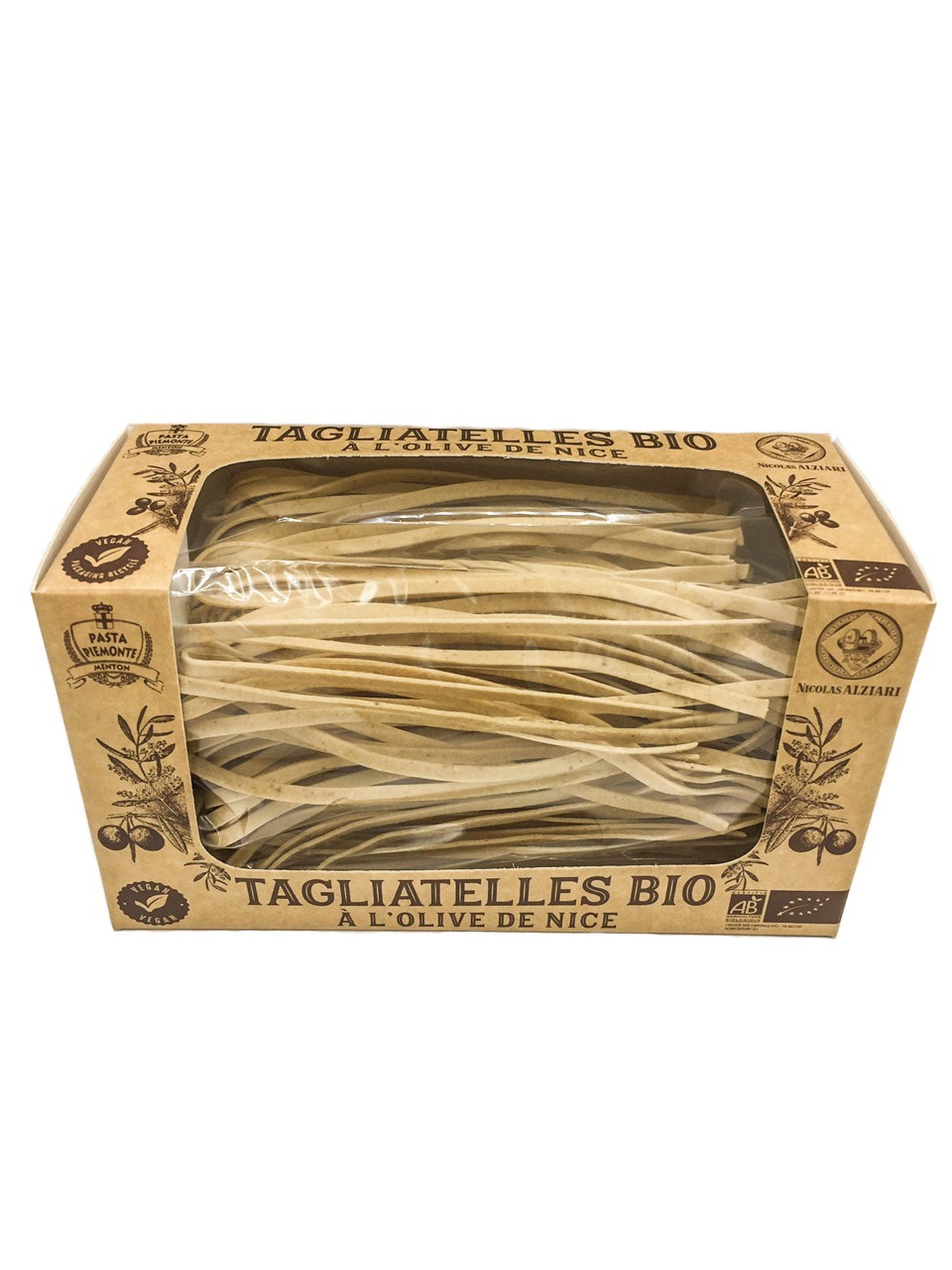 Bio Tagliatelle mit Nice Olive 250 g