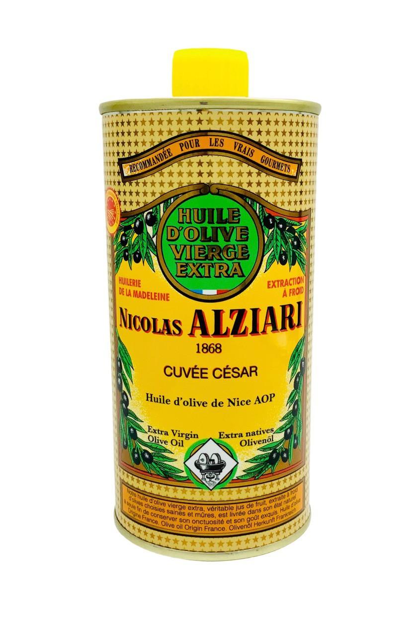 Olivenöl cuvée César 0,5l-Behälter