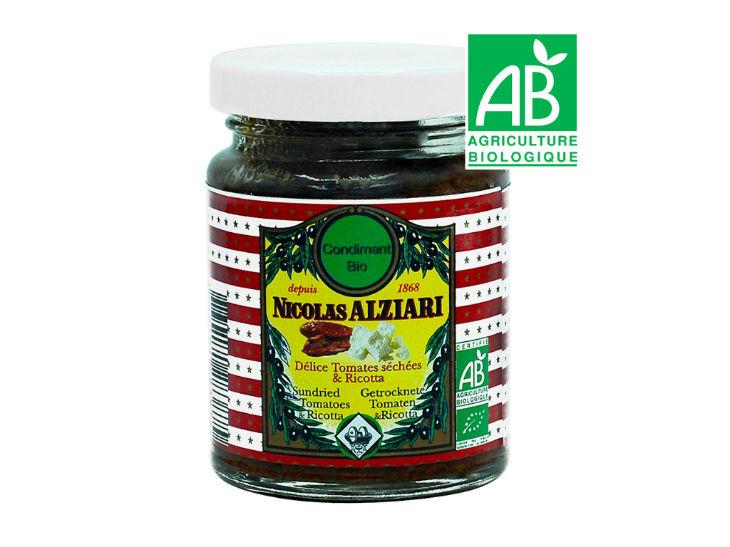 Getrocknete Tomaten & Ricotta Pesto 80 g BIO