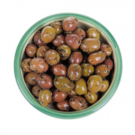 Oliven mit Kräutern der Provence 125 gr