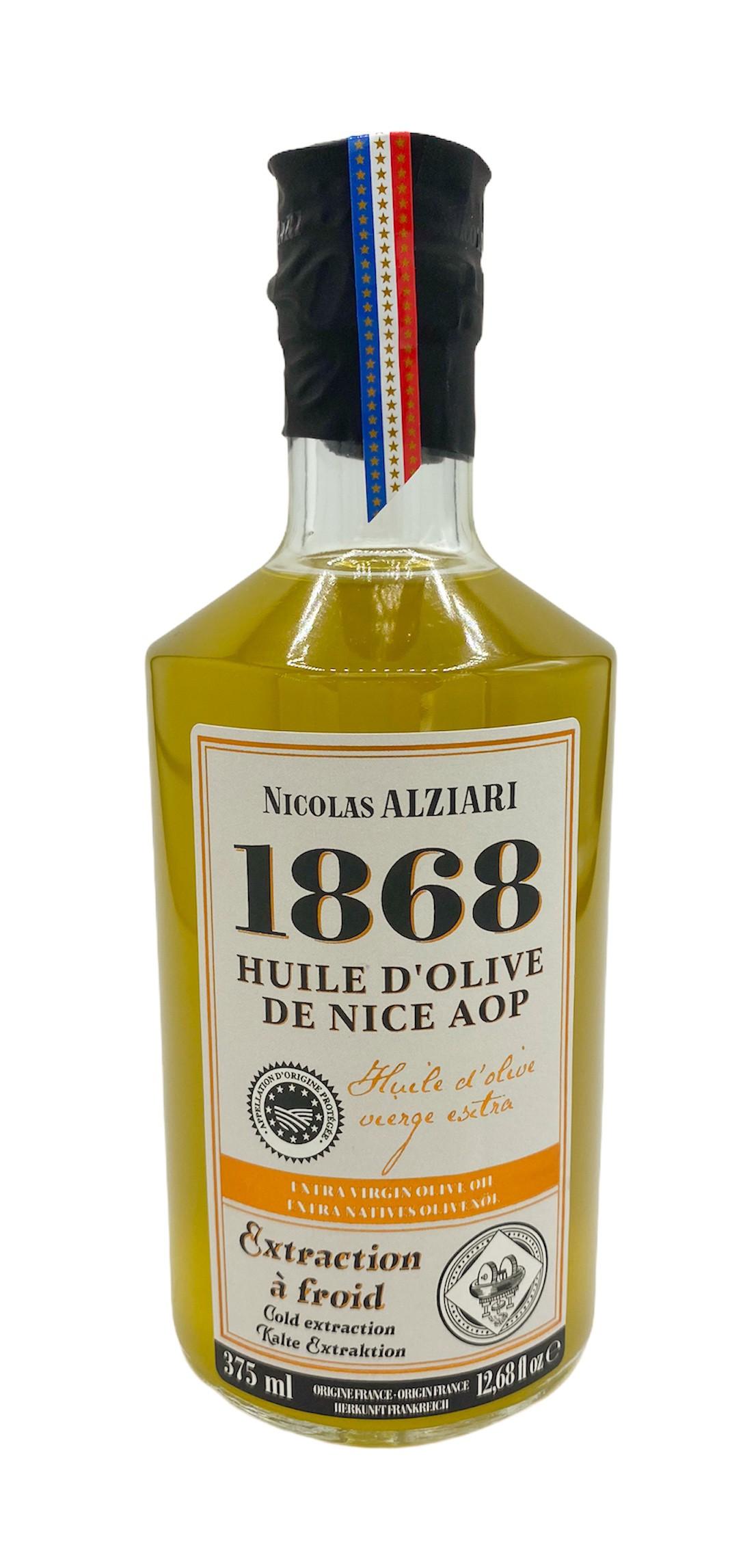 OLIVENÖL GUB NIZZA FLASCHE FASS 375 ML (MIT GESCHÜTZTER URSPRUNGSBEZEICHNUNG NIZZA – Frankreich)