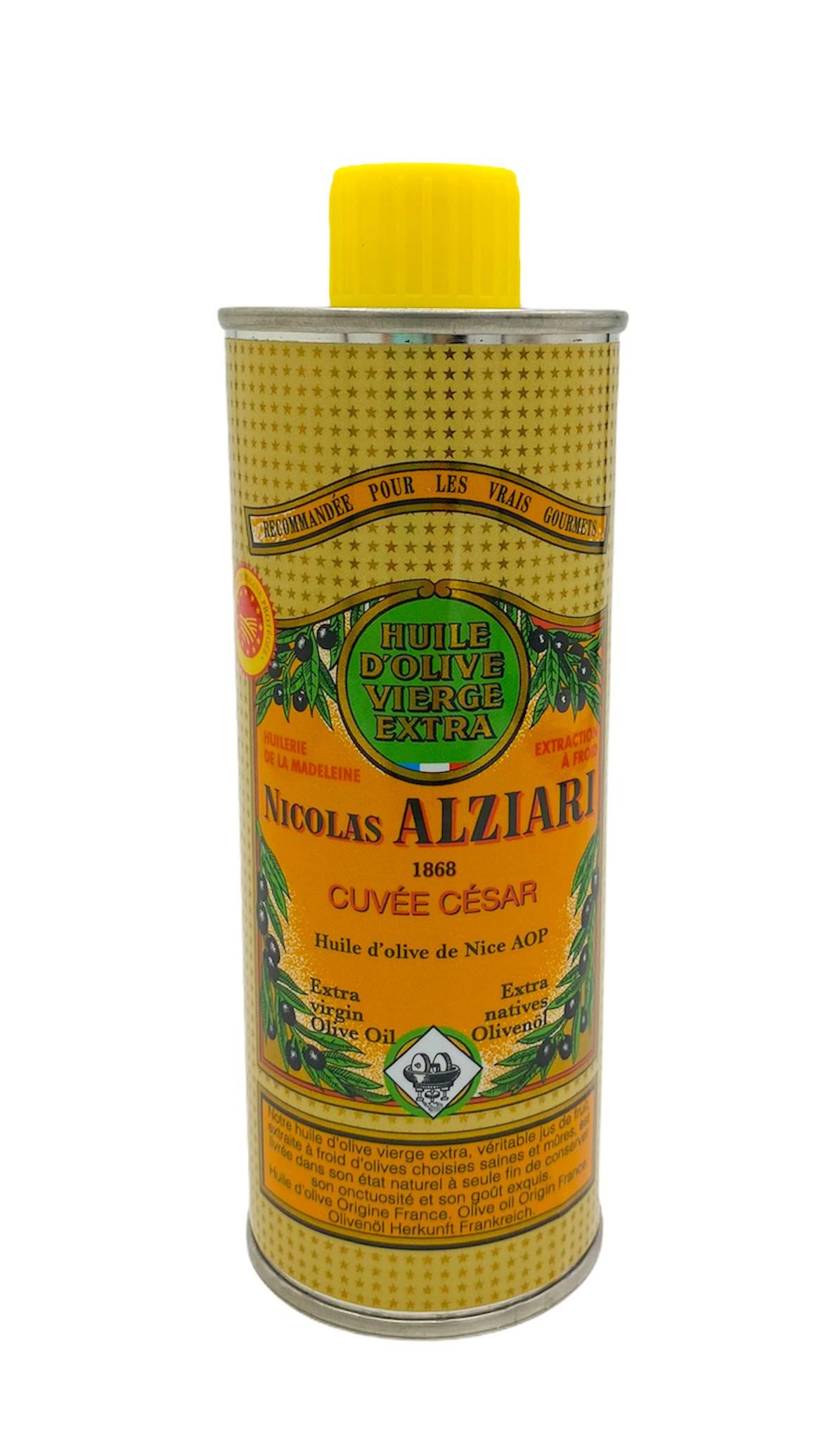 Olivenöl cuvée César 0,25 l-Behälter