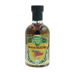 Olivenöl 'Pili Pili' für Pizza und Grillgerichte 200 ML