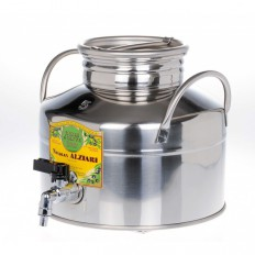 Olivenölfass aus Edelstahl 5 liter