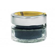 Gebrochene dehydrierte schwarze Oliven im Topf 25 gr