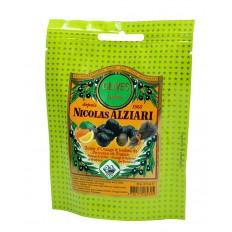 Oliven mit Orangenzesten, Kräutern, Olivenöl 60 g