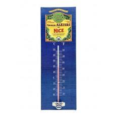 Vintage Olivenöl Thermometer Nicolas Alziari Nizza 8X25cm (Metall)