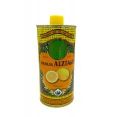 Mit natürlichem Zitronenextrakt aromatisiertes Olivenöl für Feinschmecker (0,5l)